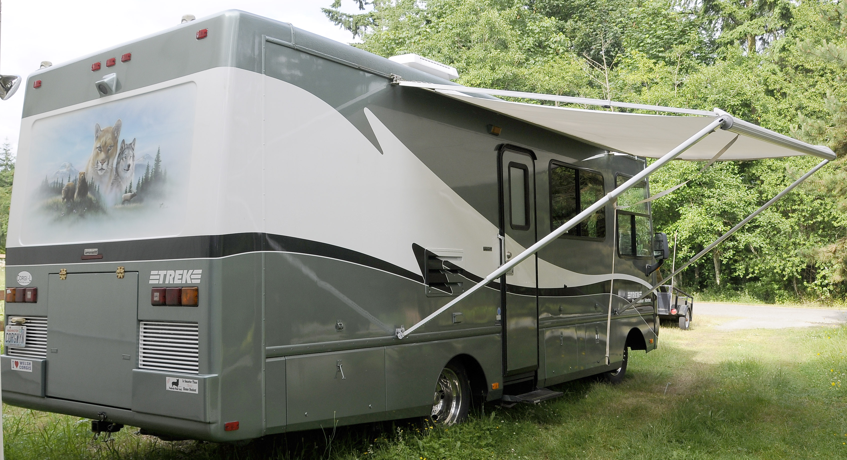 Leo & Kathy's Place: For Sale: 1999 Safari Trek 26' Gas RV